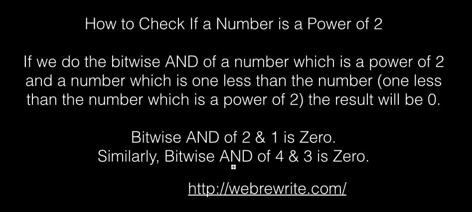 How to Check if a Number is a Power of 2