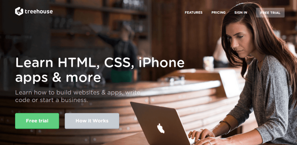 Learn Coding Online - Treehouse